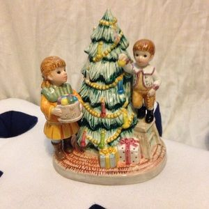Lefton O' Christmas Tree Yamada music figurine